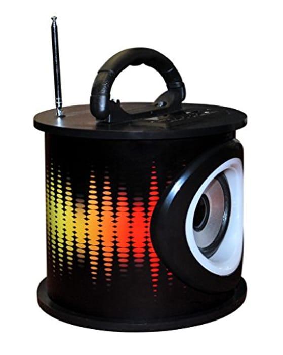 Teknofun Electro LED Lighting Mini Tower Bluetooth Speaker