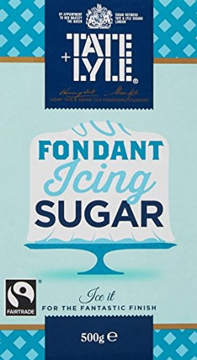 Tate and Lyle Fairtrade Fondant Icing Sugar, 500g Amazon Pantry