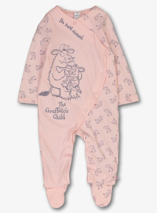 Online Exclusive the Gruffalo Pink Sleepsuit (0- 24 Months)