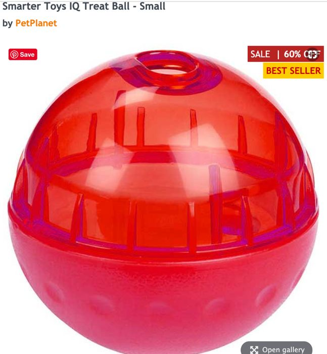 Smarter Toys IQ Treat Ball - Small