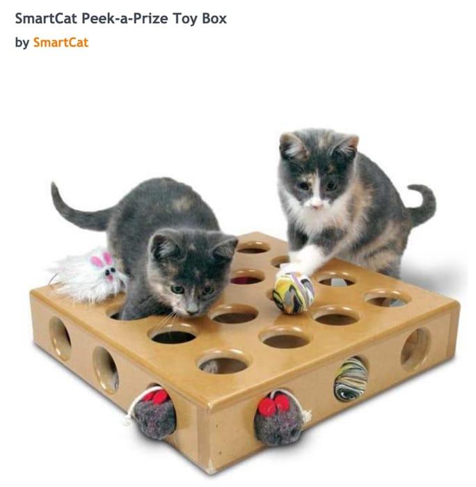SmartCat Peek-a-Prize Toy Box save 32%