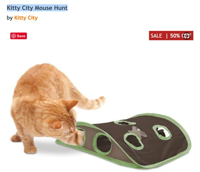 Kitty City Mouse Hunt - save 50%