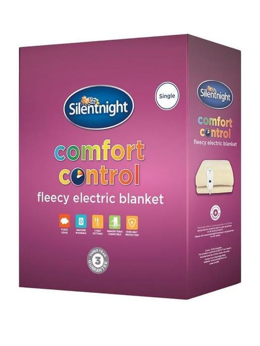 Silentnight Fleece Comfort Control Electric Blanket