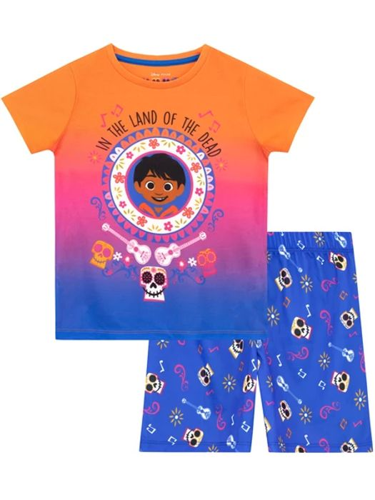 Disney Coco Short Pyjamas On Sale From £10 to £3.95