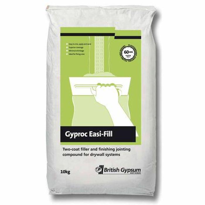 Gyproc Easi Fill Plasterboard Filler & Jointing Compound 10kg