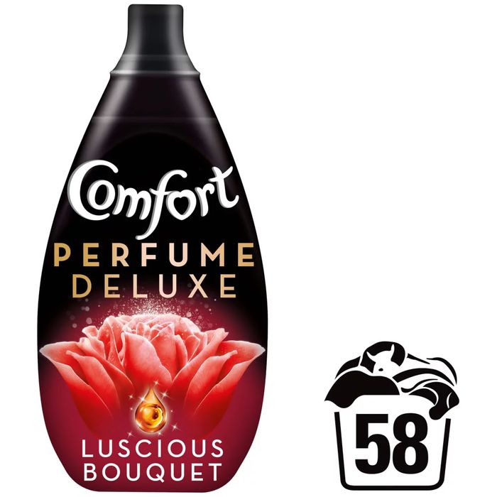 Comfort Perfume Deluxe Luscious Bouquet Fabric Conditioner 58 Washes 1L