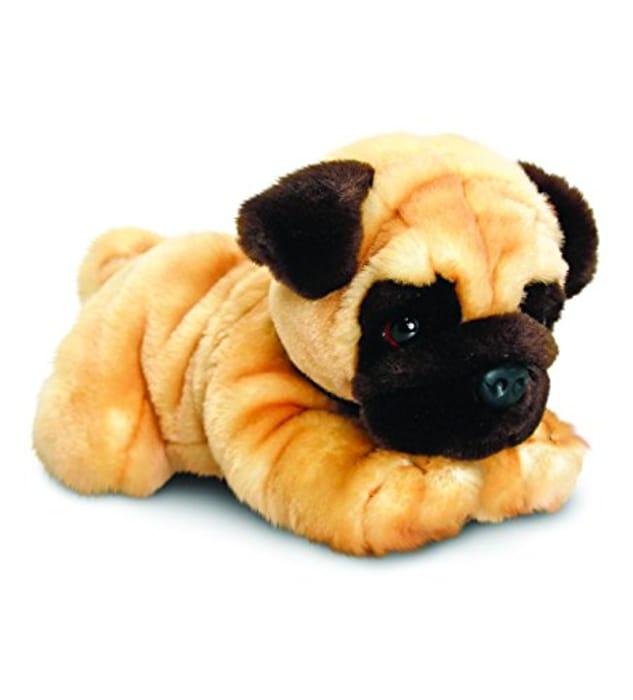 Large 35cm Pug Dog by Keel