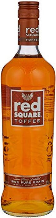 Red Square Toffee Vodka, 70 Cl