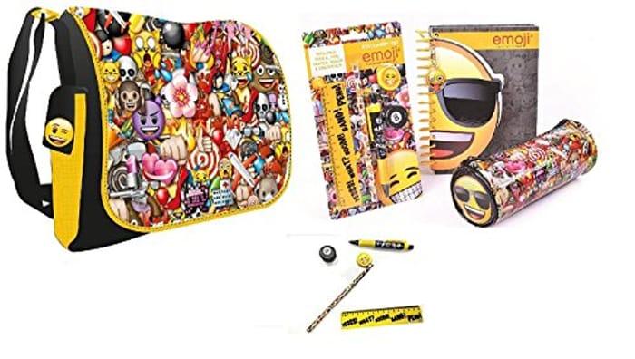 Emoji Bag and Stationery Set - Only £5!