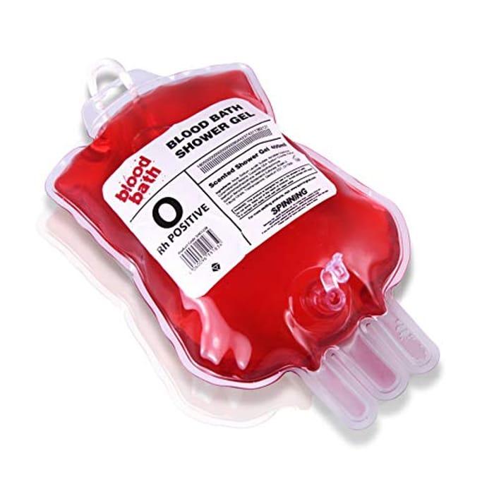 Gift Republic Blood Bath Shower Gel