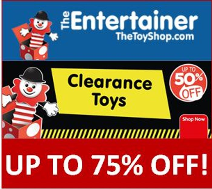 Toy Clearance - up to 75% OFF TOYS
