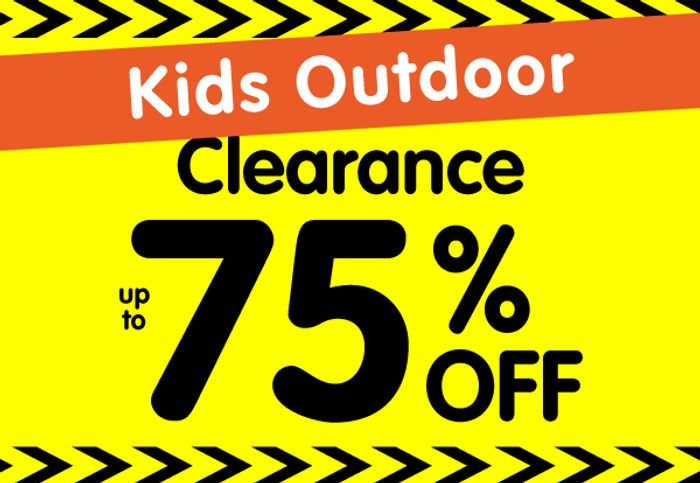 Up to 75% off Kids Outdoor Toys