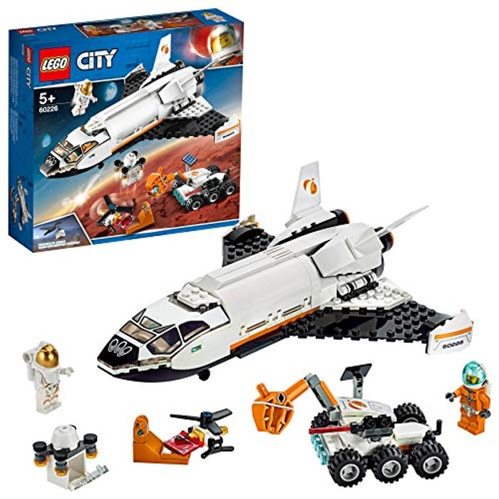 Lego City 60226 Mars Research Shuttle Spaceship