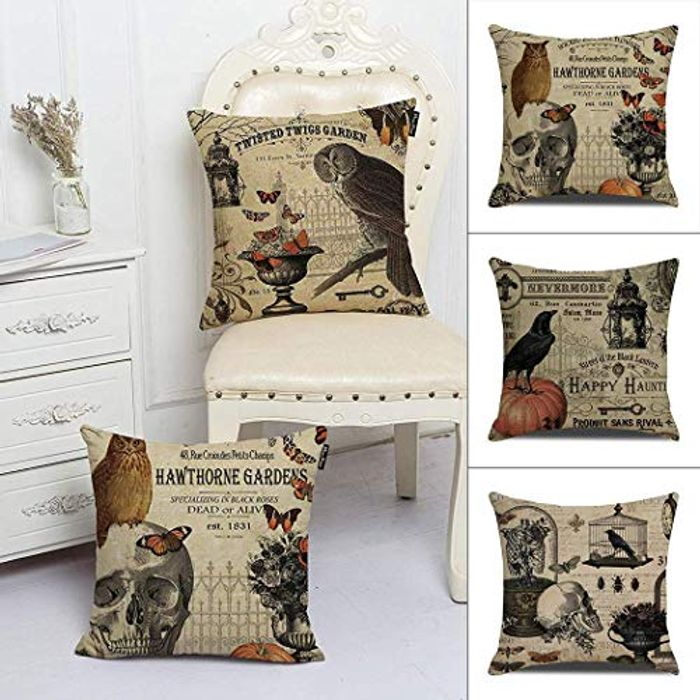 Cheap Vintage Square Throw Pillow Covers 18 X 18 with £10.79 Discount