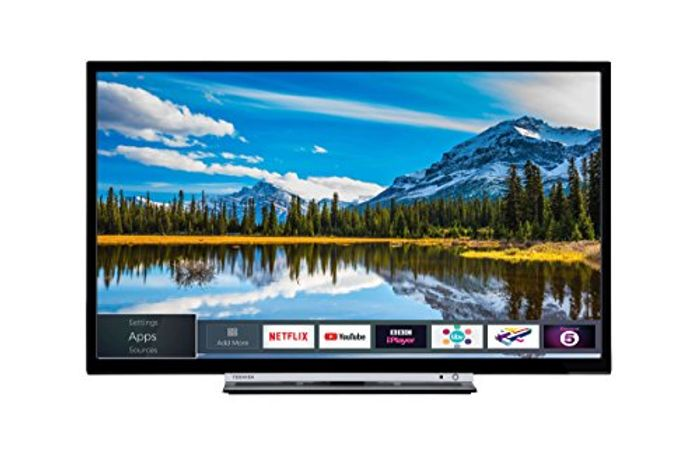 *SAVE £60* Toshiba 32-Inch Smart Full-HD LED TV with Freeview Play