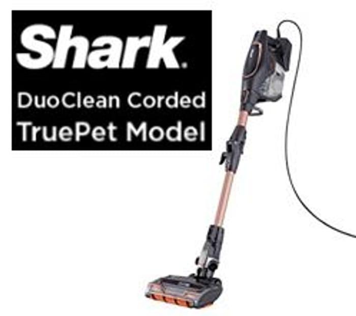 £70 OFF! Shark Corded Stick Vacuum Cleaner PET HAIR, [HV390UKT]