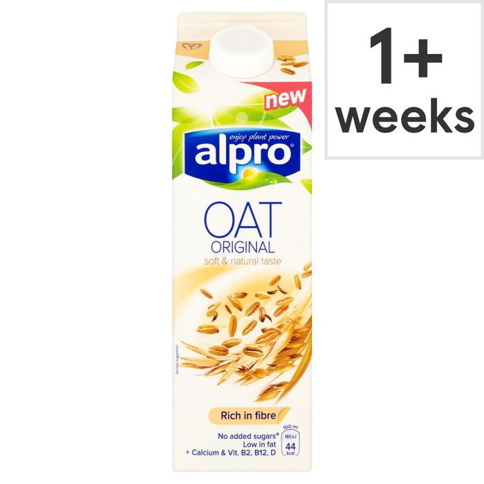 Alpro Oat Drink Original /Unsweetened, 80p at Tesco