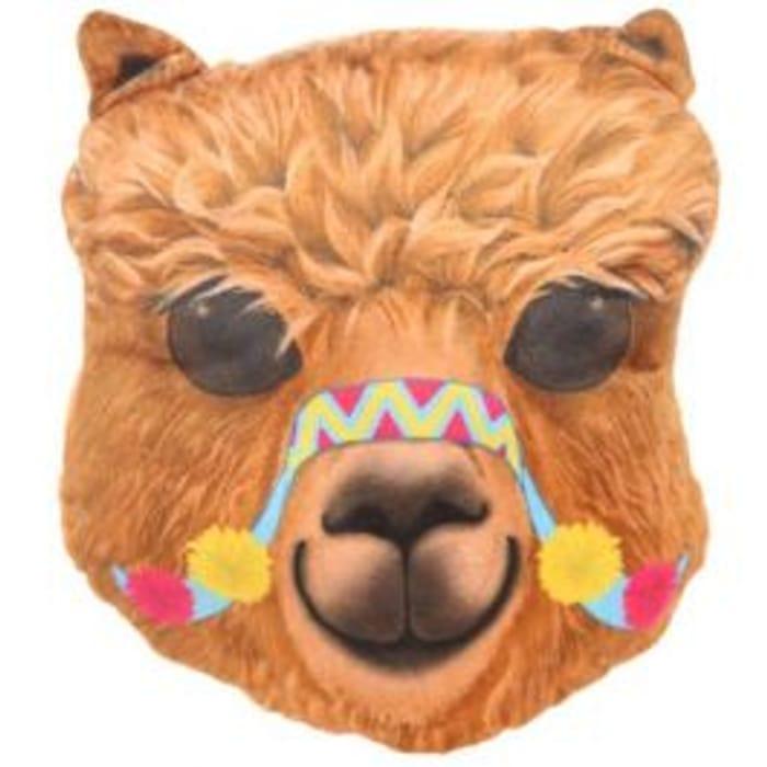 Alpaca Plush Cushion JUST £1.00