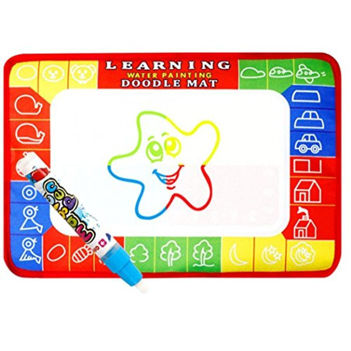 Kids Water Doodle Mat for £2