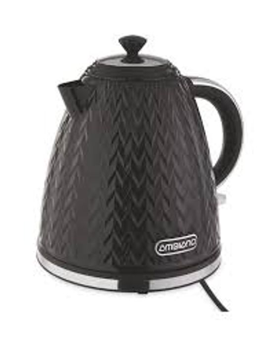 Best Price - Black Textured Kettle or Toaster - Only £14.99