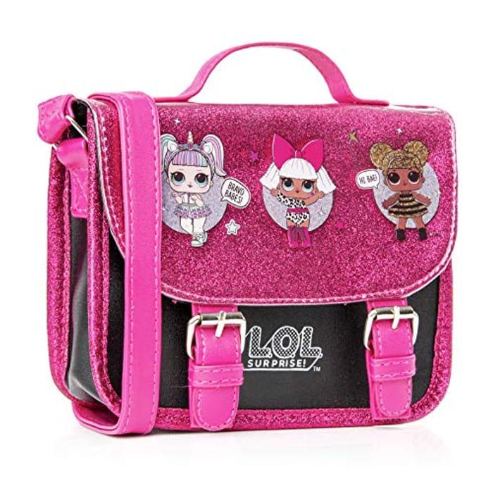 L.O.L. Surprise! LOL Dolls Handbag with Glitterati Doll Unicorn, Diva, Queen Bee