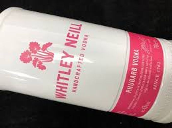 Whitley Neill Rhubarb Vodka 70cl ** £14 Off**