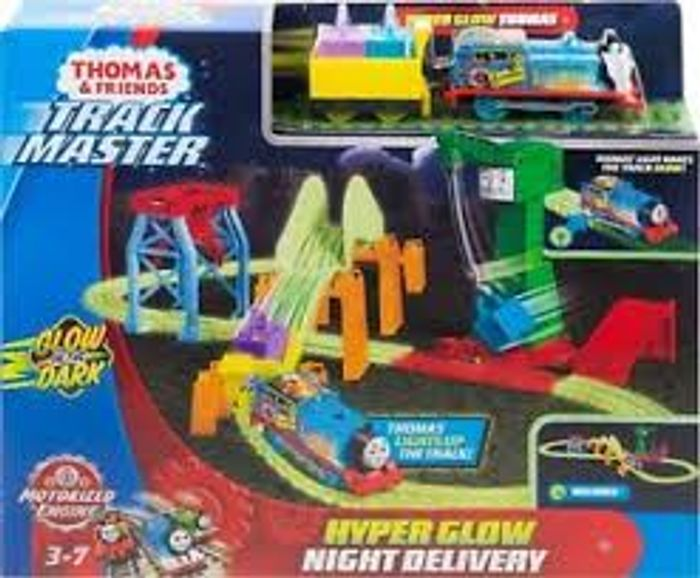 Thomas and Friends Trackmaster Hyper Glow Night Delivery
