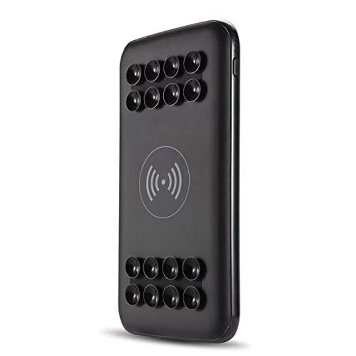 Flash Sale!3 Days only!Save 25% on Wireless Power Bank with Suction Cups!