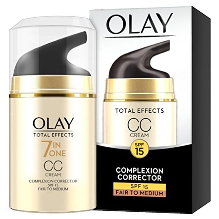 Olay Total Effects 7-in-1 Anti-Ageing CC Cream Moisturiser
