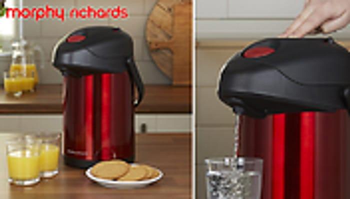 Morphy Richards 3Ltr Hot or Cold Thermal Drinks Dispenser