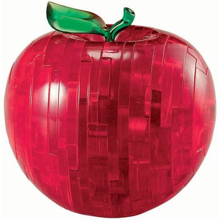 3D Jigsaw Puzzle - Red Apple