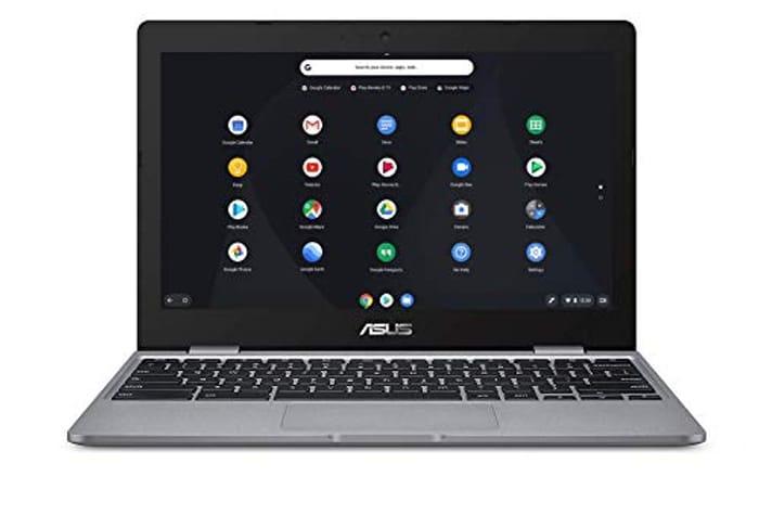 ASUS Chromebook C223NA (Grey) (Intel Celeron N3350, 4 GB RAM, 32 GB eMMC