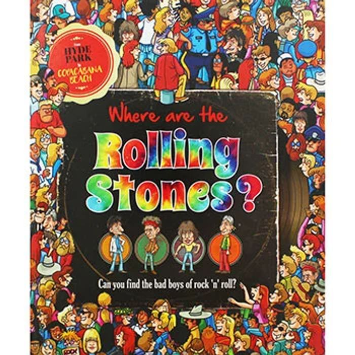 Where Are the Rolling Stones? Picture Book
