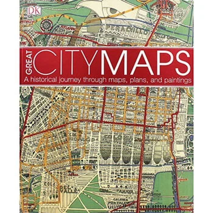 DK Great City Maps - 256 Page Hardback Book