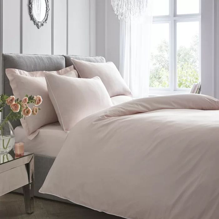 Tejeda 200 TC Percale Duvet Cover Set