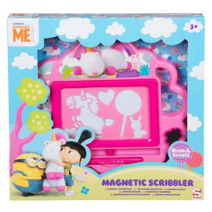 Desipcable Me Fluffy Magnetic Scribbler / Vamprina / Little Pet Shop