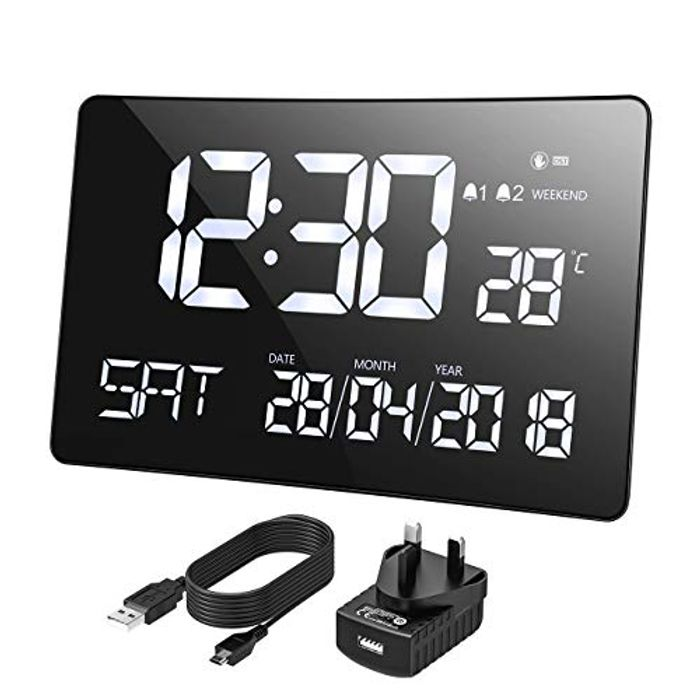 Cheap Mpow Large Digital Clock with £20 discount - Great buy!