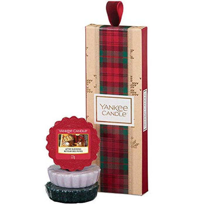 Yankee Candle Gift Set with 3 Scented Wax Melts