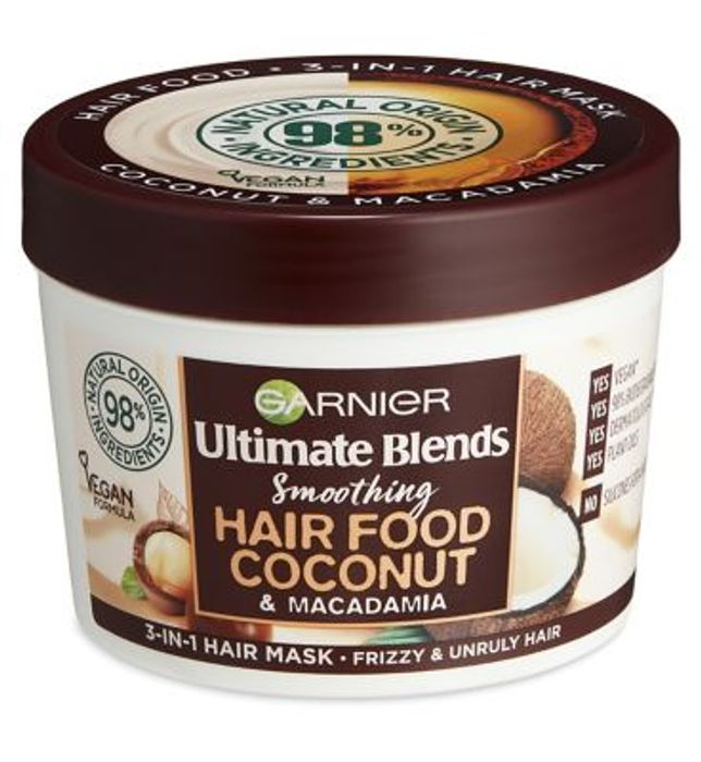 Cheap Garnier Ultimate Blends Hair Food Coconut Oil 3-in-1 Only £3.49