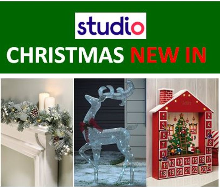 STUDIO CHRISTMAS SHOP - NEW-IN. Cheap prices!