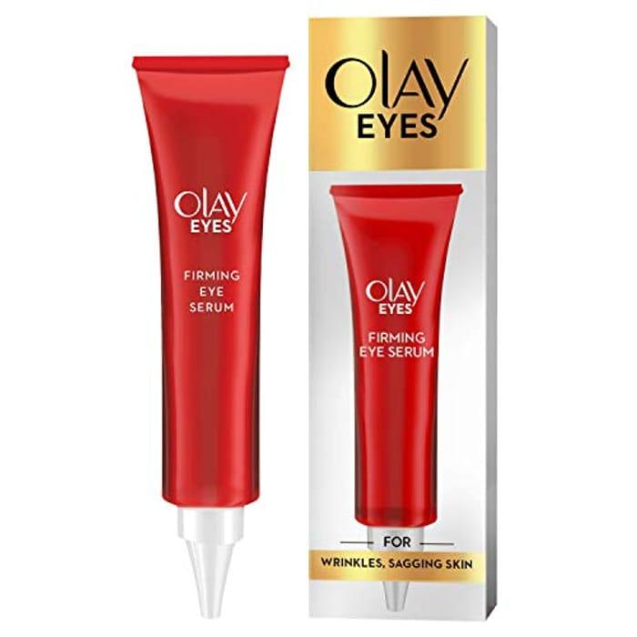 Olay Eyes Firming Eye Serum with Niacinamide for Wrinkles and Sagging Skin