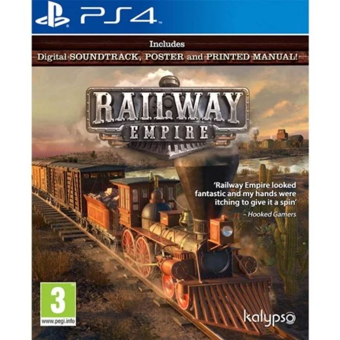 PS4 Railway Empire £5.95 Delivered at the Game Collection