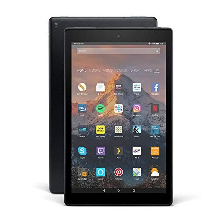 Prime Only Deal! Fire HD 10 Tablet, 1080p Full HD Display, 32 GB, Black