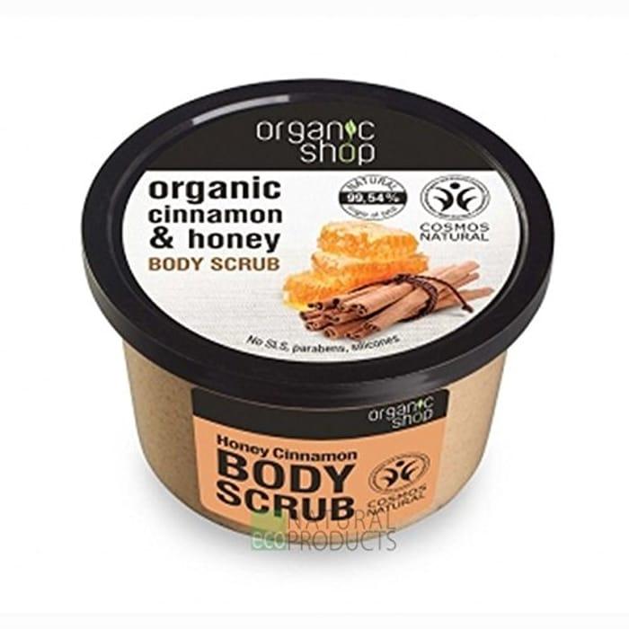 Organic Shop Honey Cinnamon Body Scrub, 250 Ml