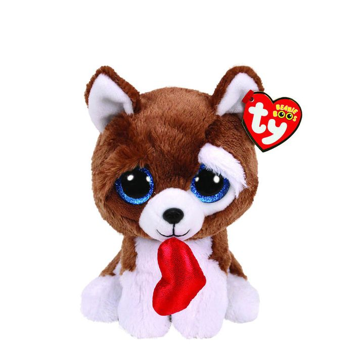 Ty Beanie Boo Small Smooches the Dog Soft Toy save £6.50