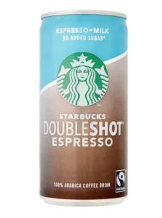 Starbucks Fairtrade DoubleShot Espresso No Added Sugar 100% Arabica