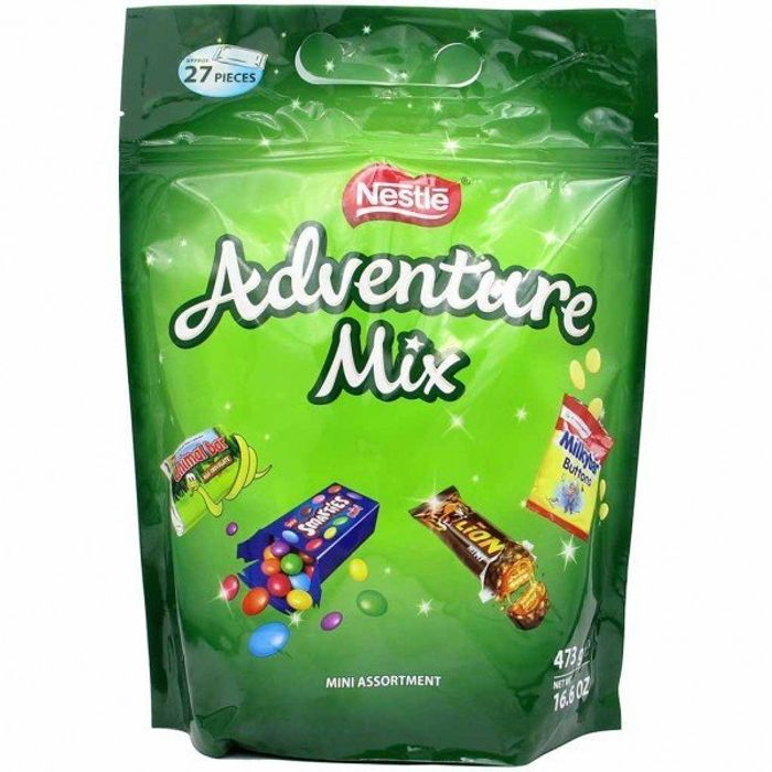 Best Price Nestle Adventure Mix Party Pack Gift Bag Assorted Chocolates 473g
