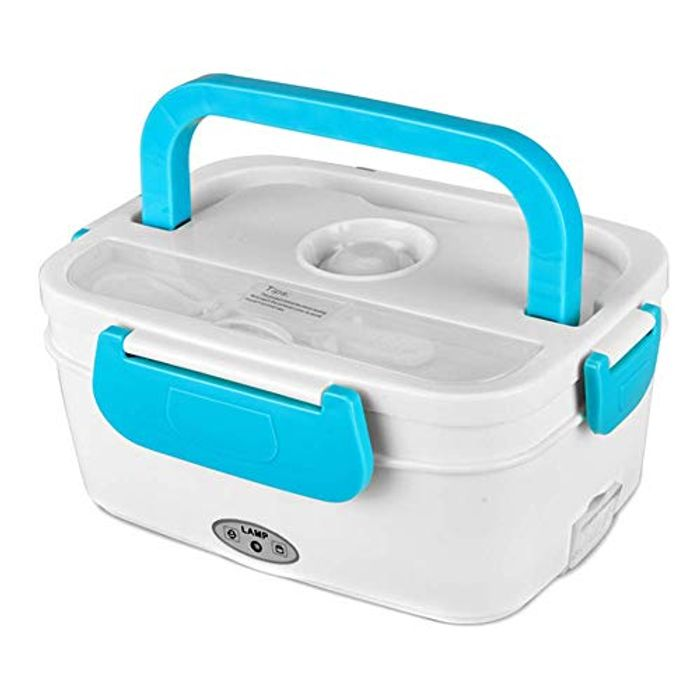 Special Offer ASOSMOS Portable Electric Food Heater Lunch Box FREE DELIVERY