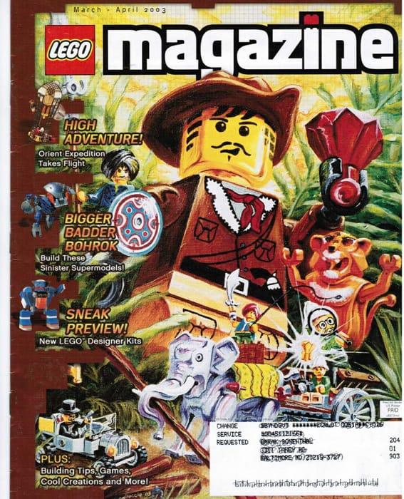 Free Kids LEGO Life Magazine!