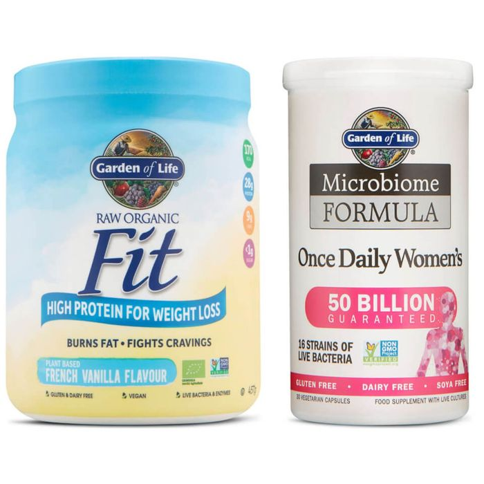 Deal Stack - Vegan Protein Powder + Microbiome Capsules - 40% Off + EXTRA 35%